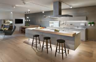 open kitchen design with island new bulthaup kitchen displays at the swindon showroom