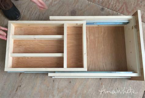 Kitchen Cabinet Drawer Slides by Kitchen Drawer Organizer Adding A Drawer To