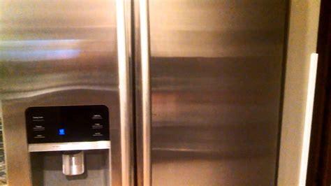 samsung fridge noise youtube