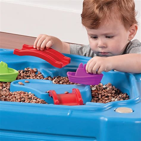 step2 cascading cove sand and water table step2 cascading cove sand water table activity toys direct