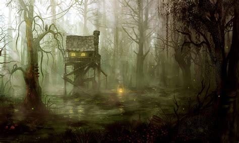 wiley   hairy man swamp houses