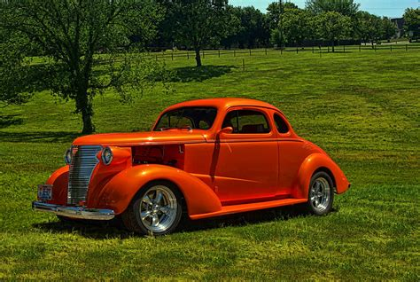 1938 Chevrolet Coupe Hot Rod Photograph By Tim Mccullough