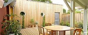 Kit Extension Bois Toit Plat : prix d 39 une extension ossature bois toit plat camif habitat ~ Farleysfitness.com Idées de Décoration