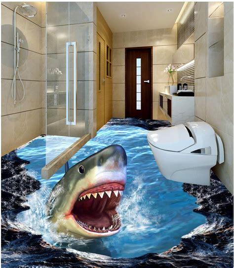 bathroom  wallpaper floor  wall murals wallpaper floor