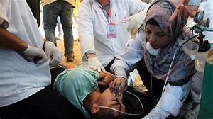 Palestinian medics struggle to provide healthcare amid ...