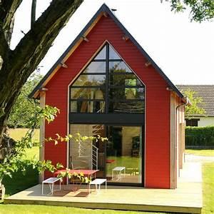 une petite maison d39architecte en bois cote maison With maison bois d architecte