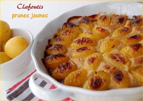 dessert avec prunes jaunes clafoutis aux prunes jaunes sans gluten et sans lactose les carnets de miss diane