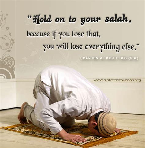 Hold On To Your Salah!