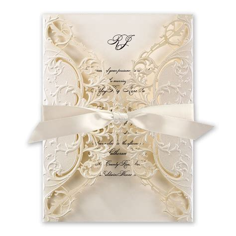 laser cut wedding invitations royal details laser cut invitation invitations by