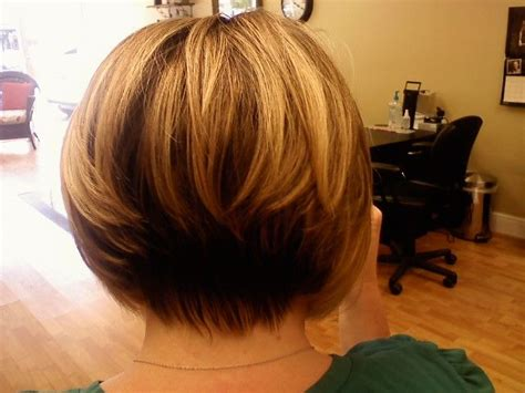 Back View Of Inverted Bob Hairstyles