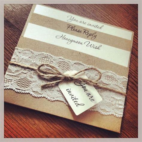 easy wedding invitations wedding