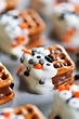 Halloween Candy Bar Pretzel Bites - The Gunny Sack
