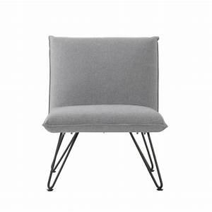 Fauteuil gris design 14 idees de decoration interieure for Fauteuil gris design