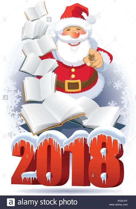 Clipart Babbo Natale Babbo Natale Con Nuovi Libri Nel 2018 Su Abstract Inverno