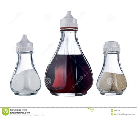 cafe condiments royalty  stock images image