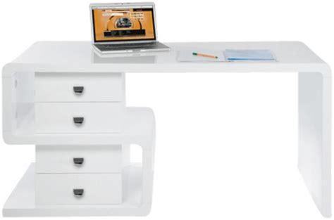 bureau design pas cher bureau blanc serpent bureau pas cher
