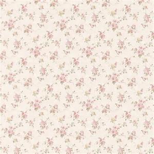 413-66301 Pink Floral Trail - Genevieve - Brewster Wallpaper