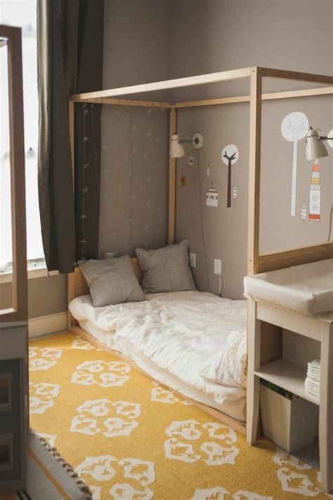 idees pour une chambre avec lit montessori ambiances