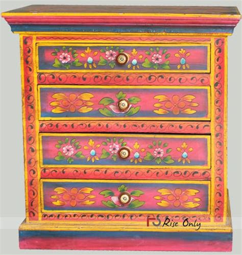 images  indian painted furniture  pinterest