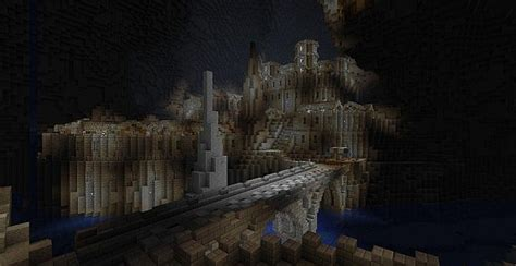 abandoned dwarven city caved  contest minecraft project