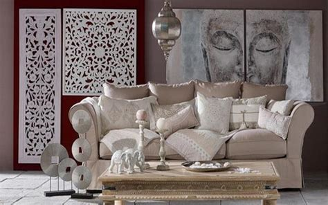 ethnic interior decorating ideas mixing neutral colors