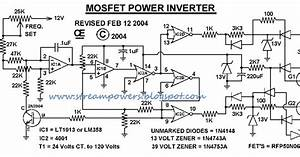 Simple 1000w Power Inverter Circuit Diagram