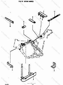 Suzuki Motorcycle 1972 Oem Parts Diagram For Wiring