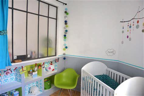 chambre bebe gris bleu deco chambre bebe bleu gris