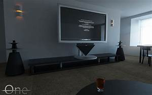 Bang Olufsen Beolab 5 Beovision 4 3d Model Animated  Max