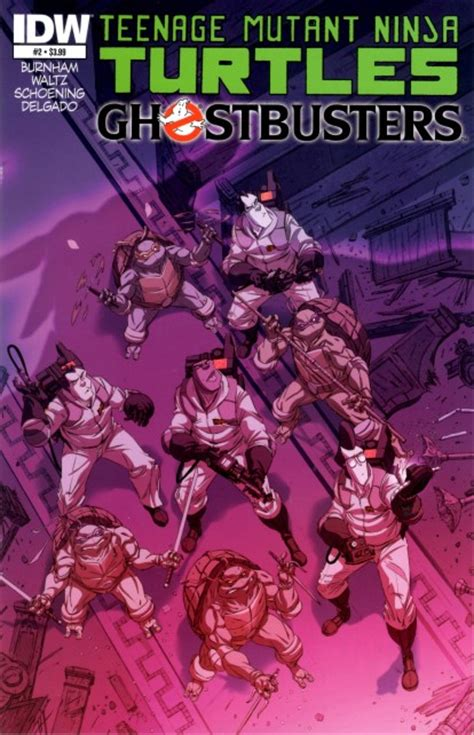 idw publishing comics teenage mutant ninja turtles
