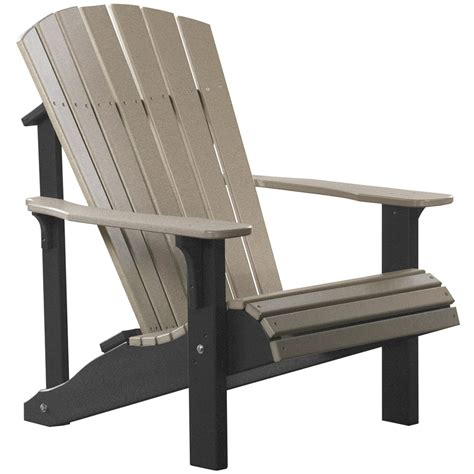 amish patio pinewood chairs deluxe adirondack chair