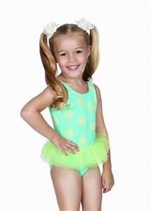 Hula Star Swimwear Size Chart Hula Star Green Dots Tulle Skirted One Piece Girls Swimsuit