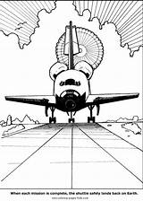Coloring Space Pages Shuttle Printable Transportation Landing Sheets Nasa Spaceship Sheet Print Airplane Getcoloringpages Shuttles Found Truck Kid Trucks sketch template