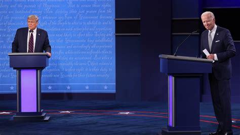 biden trump debate presidential joe donald debates president second two face vs poll win won after calls last does sparks