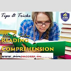 Tips To Attempt Reading Comprehensions In Questions  Online Preparation For Exams, A Venture Of