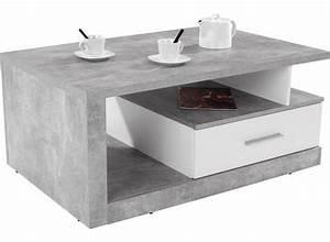 Couchtisch Weiß Grau : stauraum couchtisch iguan in betonoptik hell online kaufen m belix ~ Frokenaadalensverden.com Haus und Dekorationen