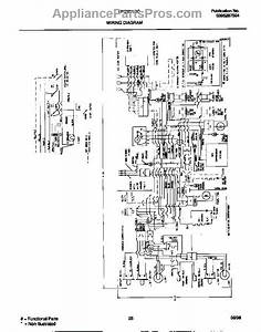 Parts For Frigidaire Frs22xgcb3  Wiring Diagram Parts