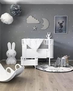 Decoration Nuage Chambre Bébé : apporter de la magie dans la chambre via la d coration murale nuage b b nursery baby boy ~ Teatrodelosmanantiales.com Idées de Décoration
