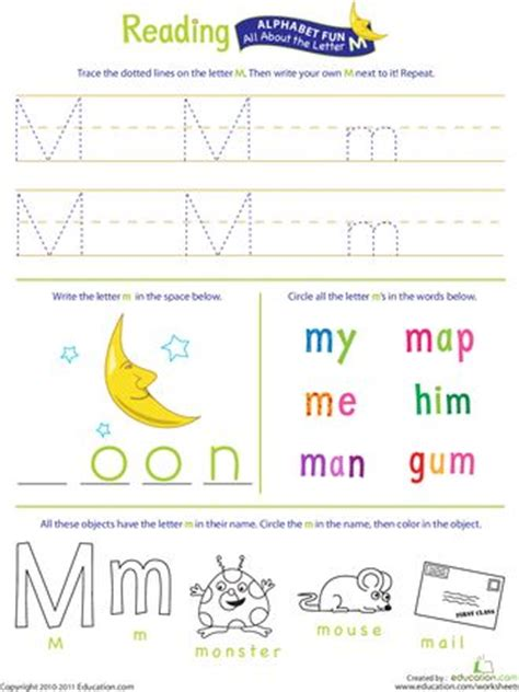 get ready for reading all about the letter m monthly 458 | 7914b60ed04aaa15ce3fb78ebd8c9bbf letter m worksheets preschool worksheets free