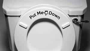 Should Men Put The Toilet Seat Down When They U0026 39 Re Finished