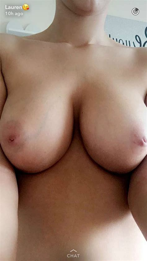 Nude Model Lauren Louise Flashes Her Huge Boobs And Tight