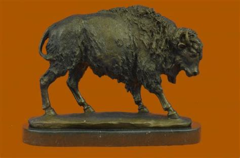Signed Carl Kauba Bronze Marble Base Statue American
