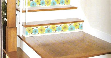 Ideas Leftover Wallpaper Border by Decorating Stairs Is Easier Than With Peel And Stick