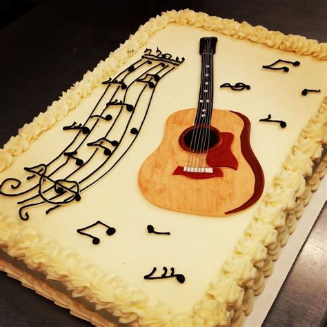 taylor guitar birthday cake    women   oven
