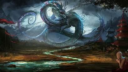 Dragon Japanese Desktop Dragons Background Wallpapers Backgrounds