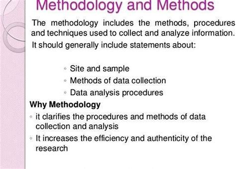 research design  methodology sample thesis proposal