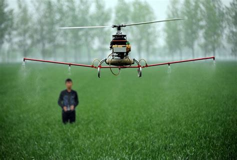 agricultural drones offer high tech relief  struggling