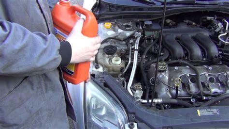 ford fusion upper radiator hose leak power