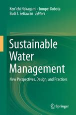 Sustainable Water Management - New Perspectives, Design
