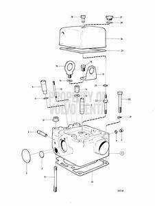 Volvo Penta Exploded View Cylinder Head  B Md2b